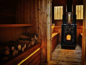 Tonnensauna transport bestellen Saunafass Fasssauna Saunahaus Holz bestellen