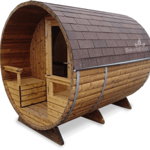 Barrel Sauna T27ET from Sauneco
