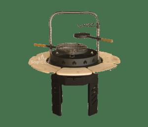 grillkota gartenhaus 9 2 m aus fichte f r bis zu 8 personen mit grill. Black Bedroom Furniture Sets. Home Design Ideas