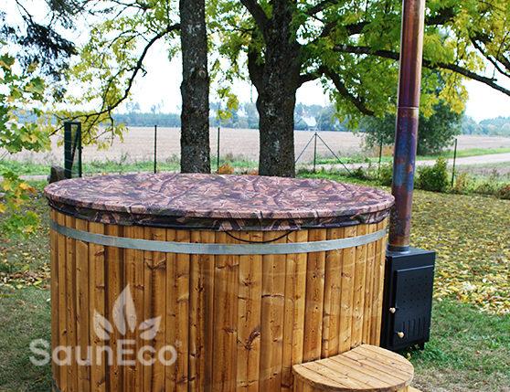 Badefass Holz Awesome Skargards Rojal Ein Besonderer Hot Tub Mit