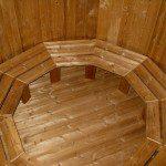 Fichte, Lärche oder Thermoholz Badetonne Tonnensauna Badezuber Saunafass