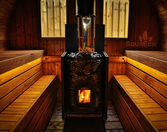 Saunafass Tonnensauna Saunafässer aus Holz Sauneco