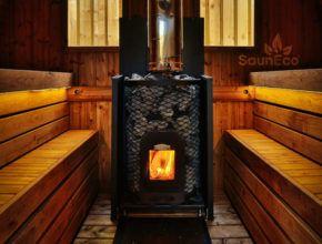Thermoholz Tonnensauna Saunafass Fass-sauna aus Holz Sauneco